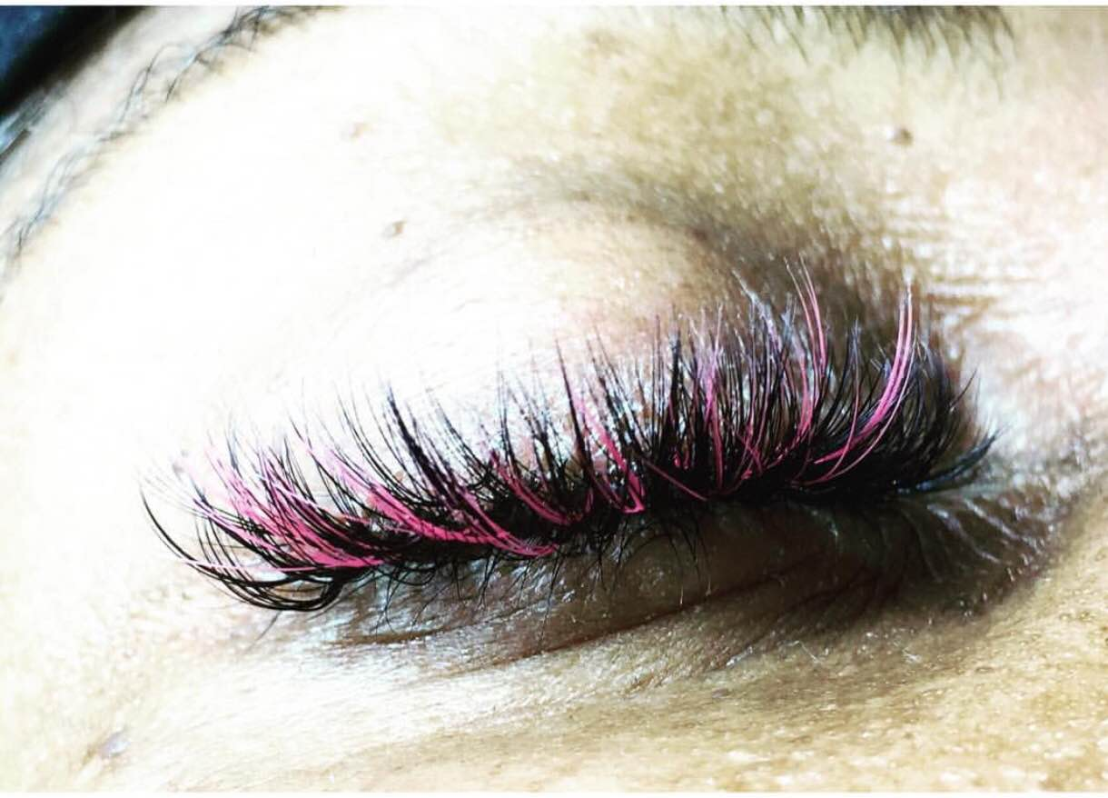 ce1c94bb750 Lash Out at Breast Cancer with Pink Eyelash Extensions - Luxx Lash Salon