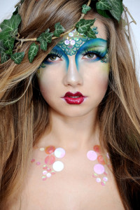4. Mystical Mermaid with Green Lashes  sc 1 st  Luxx Lash Salon u0026 Boutique & 5 Halloween Costume Ideas Inspired by Lash Highlights - Luxx Lash ...