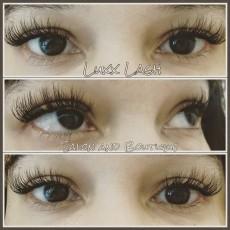 Oh so glam Eyelashes by Luxx Lash
