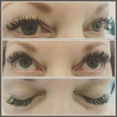 volume eyelashes by Luxx Lash