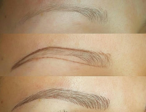 dallas microblading eyebrows